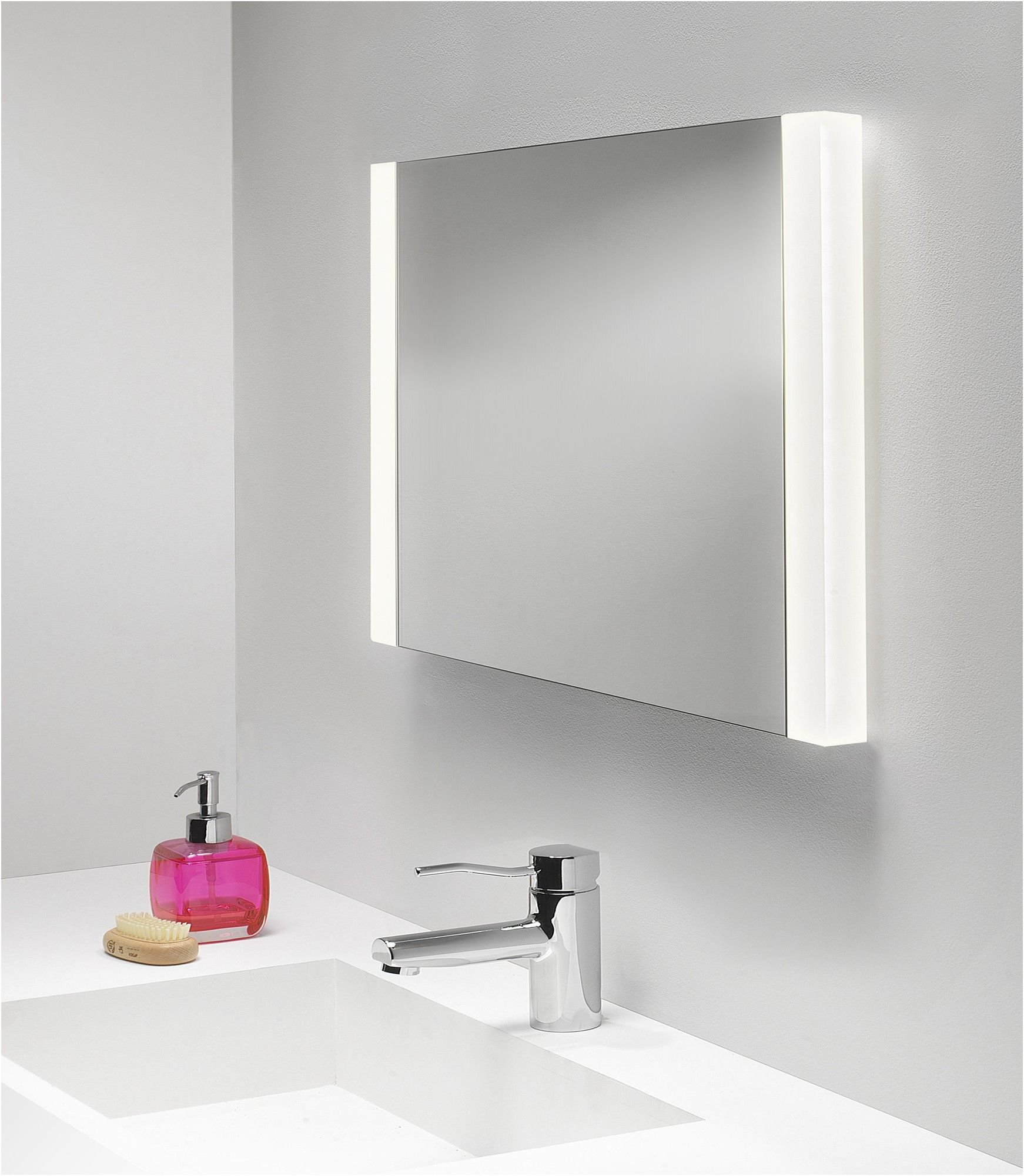bathroom mirror with light and storage within cabinet rocket from ...