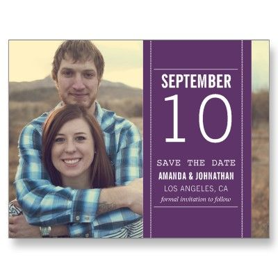 #wedding #Photo Save The Date Post Cards