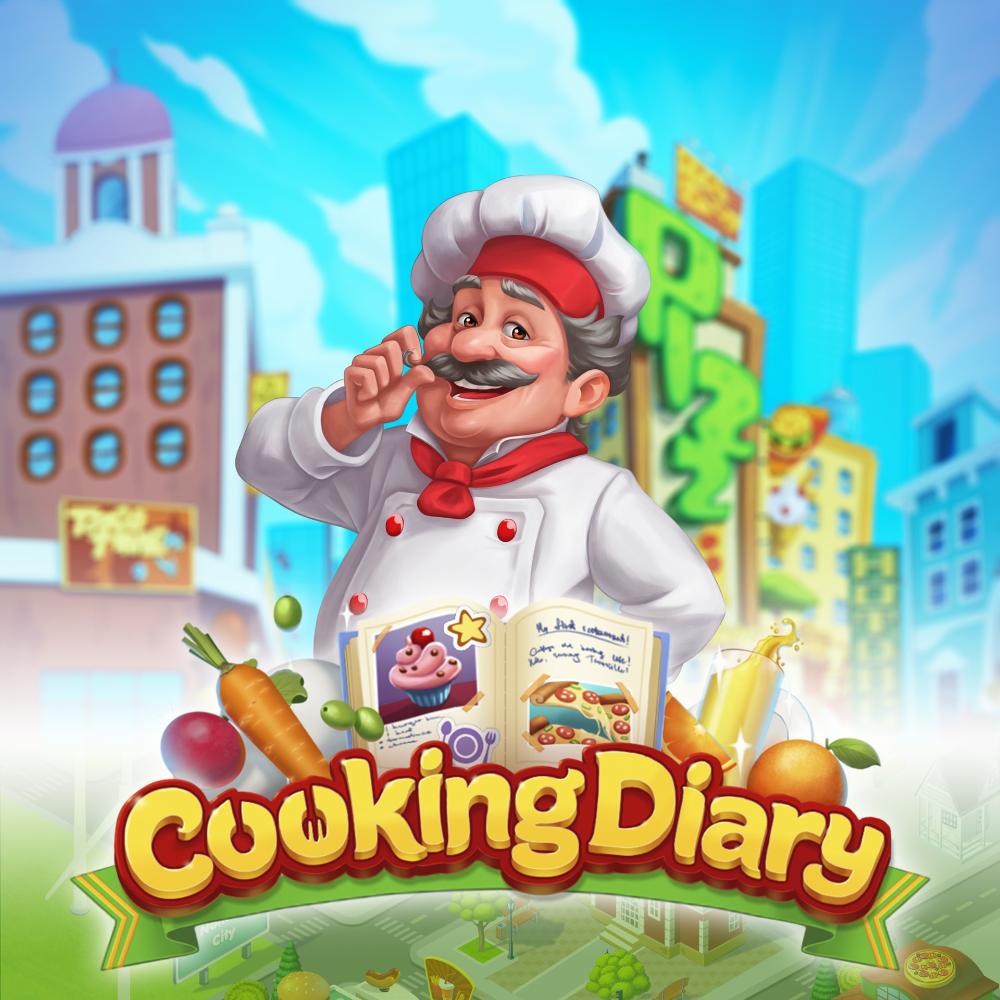 ArtStation Cooking Diary, MYTONA LLC Game logo, Game