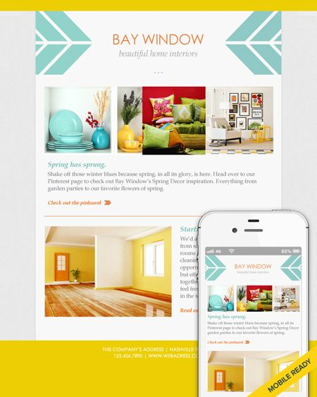 Fresh And Friendly Email Template Design  Emma Email Marketing