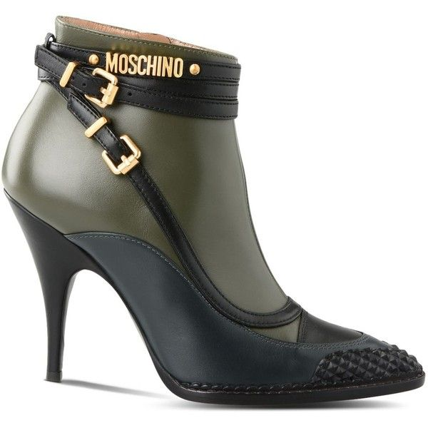 cd4f981fff9 Moschino Heel ( 680) ❤ liked on Polyvore featuring shoes