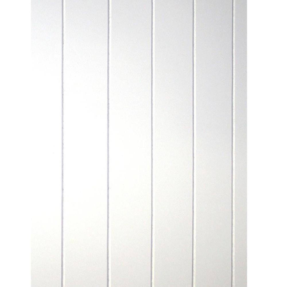 28 Sq. Ft. Cape Cod MDF V-Groove Wainscot Plank Paneling