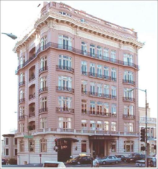 Art Places In San Francisco: William Randolph Hearst Built 1001 California Street In