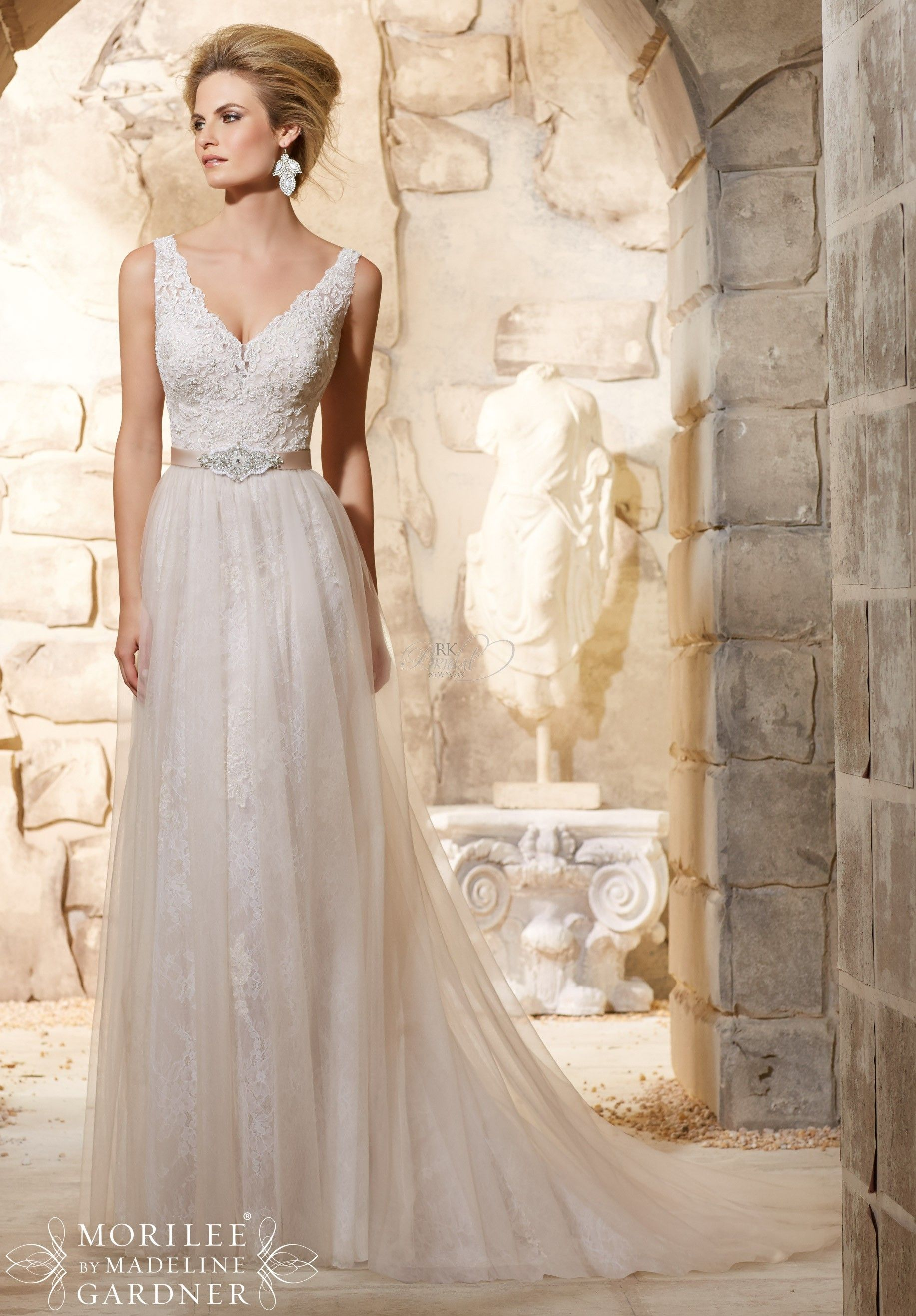 Mori lee bridal fall style the dress pinterest
