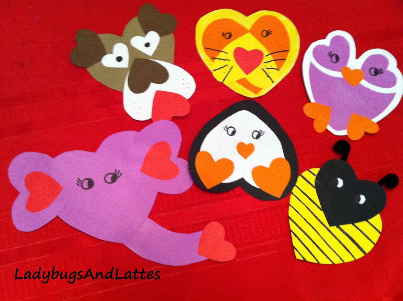 Valentines Activities with a Toddler homemade Valentine animal – Homemade Valentine Cards for Toddlers