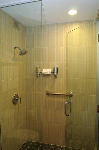 marvellous modern style hotel room bathroom 3d house free   Future Bathroom tile - love! (Aloft hotels)   Shower heads ...