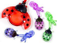 ladybug lip gloss :)