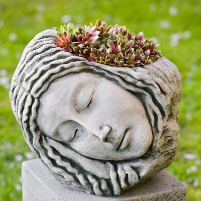 Perfect Campania International Sleeping Maiden Planter
