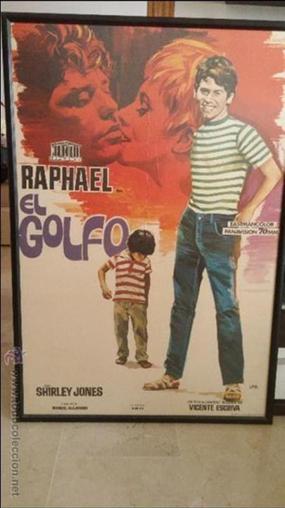 Cartel original enmarcado de la pelicula de RAPHAEL EL GOLFO 1968 ...
