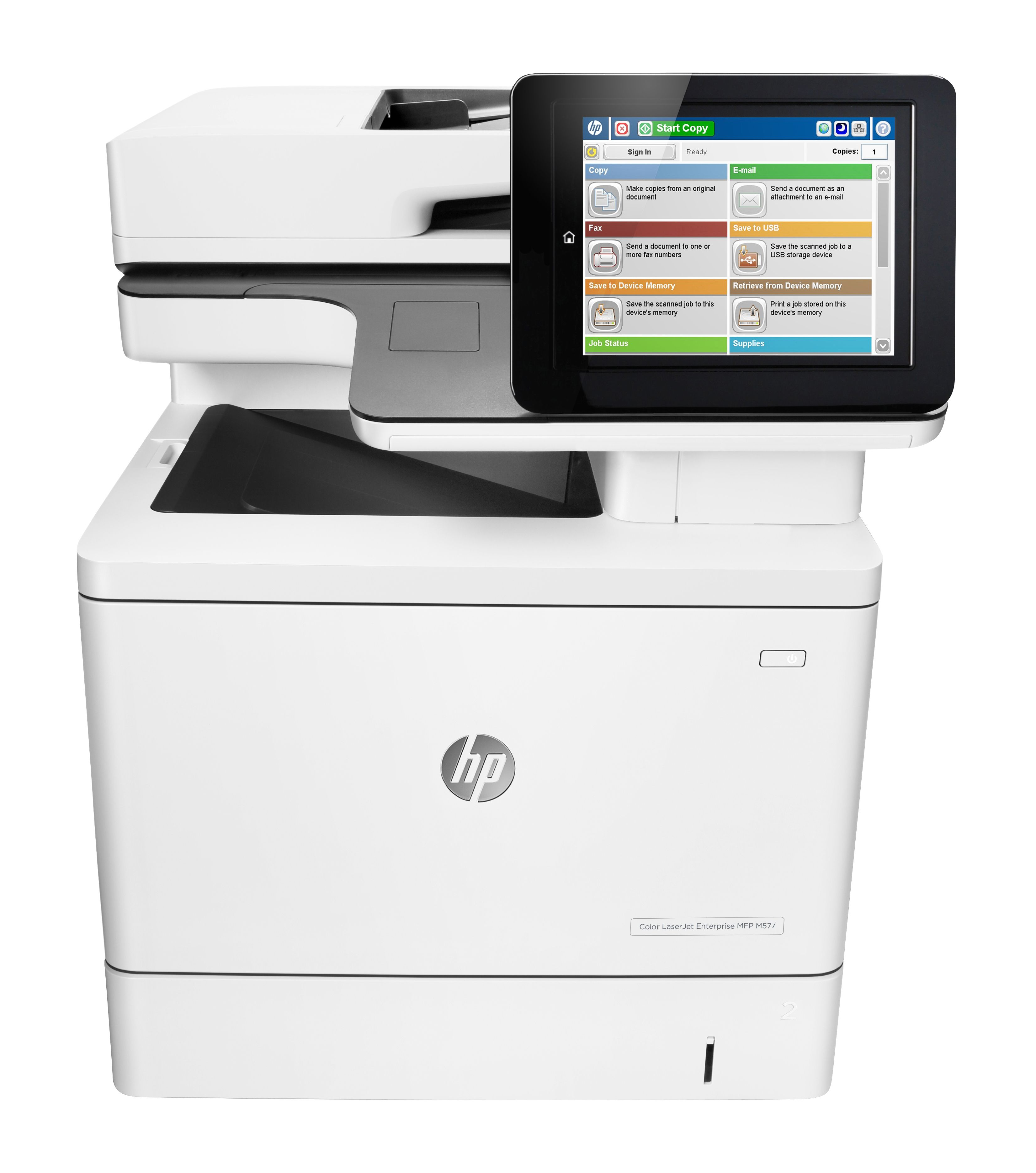 B5l46a Hp Colour Laserjet Enterprise Mfp M577dn M577 Multifunction A4 Printer In 2020 Refurbished Computers Linux Operating System Printer