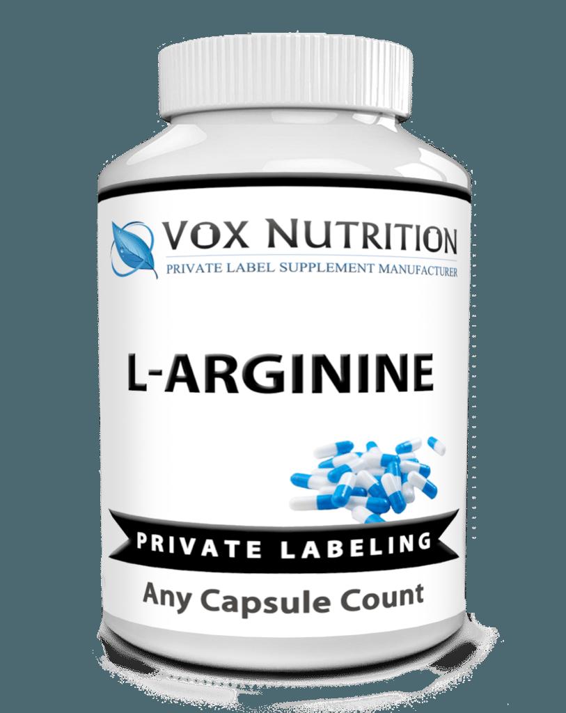 Pvate Label L Arginine Sports Nutrition Vitamin Supplement Sports