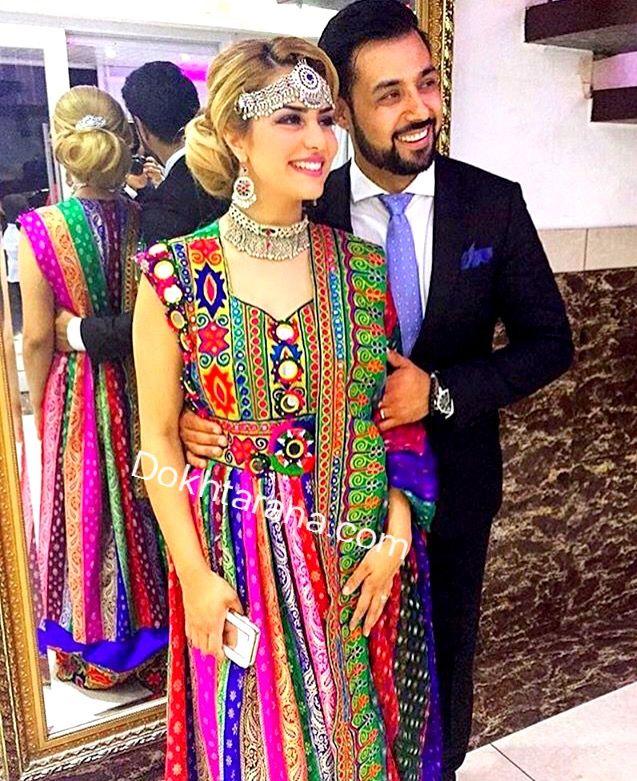 Pakistani and afghan wedding dress