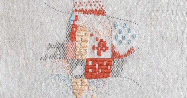 bordados: bordados a mano // handmade embroidery - mapa
