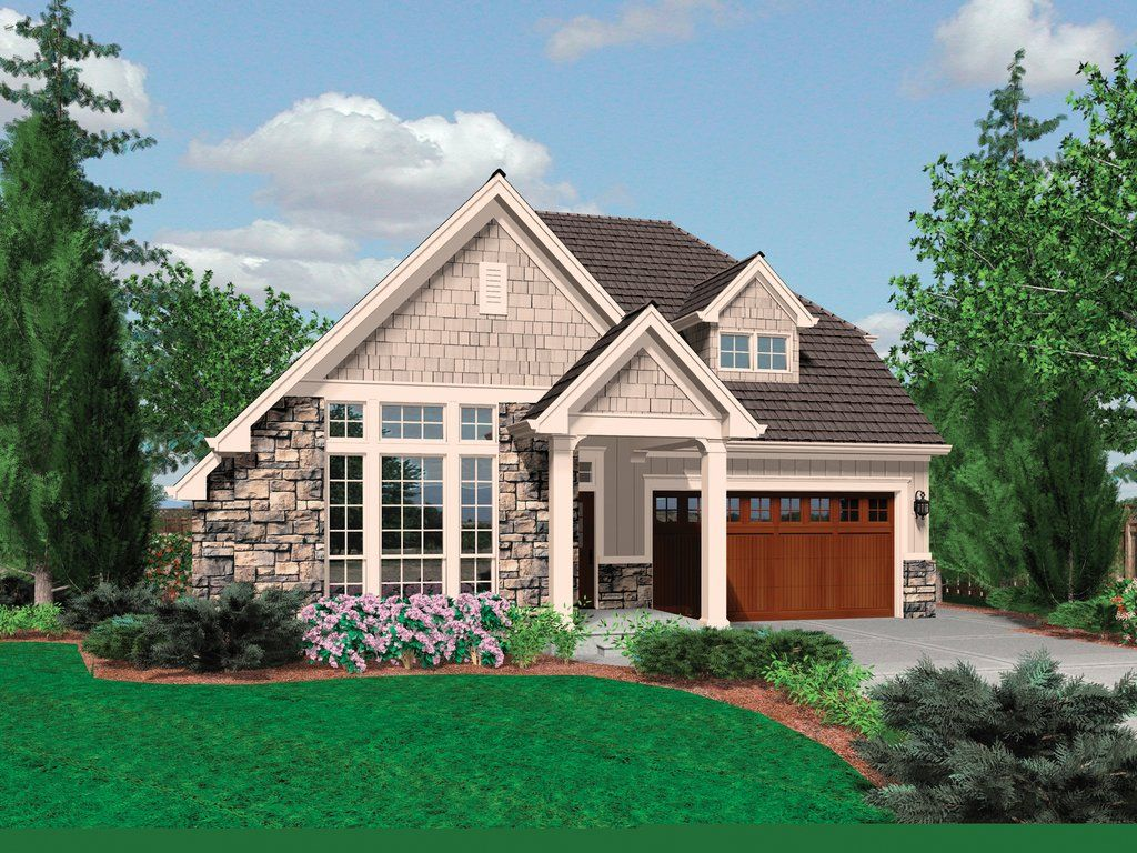 Traditional Style House Plan 3 Beds 2 5 Baths 1761 Sq Ft Plan 48 568 Small Cottage House Plans Small Cottage Homes Cottage Plan