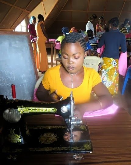 Sewing Student Cozi: My Entire Life is a New Story  Meet Cozi, one of Action Kivu's students in our #sewing workshop in Mumosho, #Congo. Please read what she plans to do with her sewing skills, and share! You can help make her dreams a reality, and purchase a sewing kit for her graduation: http://actionkivu.org/blog.php?id=8853475506774583605