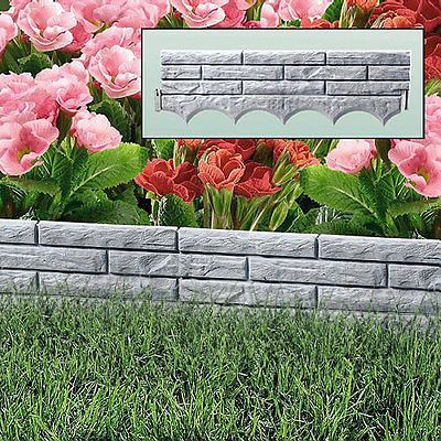 Great Flower Bed Edging Plastic 34 For With