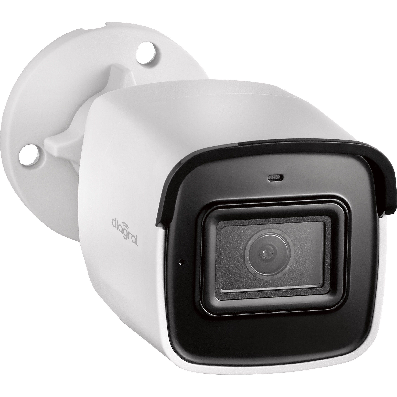 Camera De Surveillance Diagral Connectee Exterieure Sans Fil Diag24vcf Blanche Camera Surveillance Capteur Cmos Et Systeme Alarme