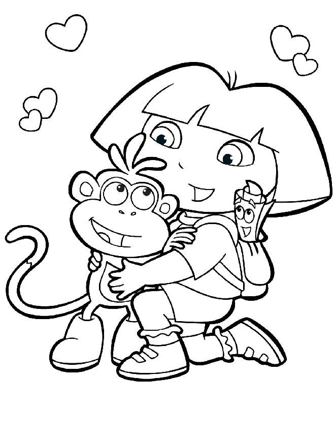 Tons Of Coloring Pages For All Different Cartoon Shows