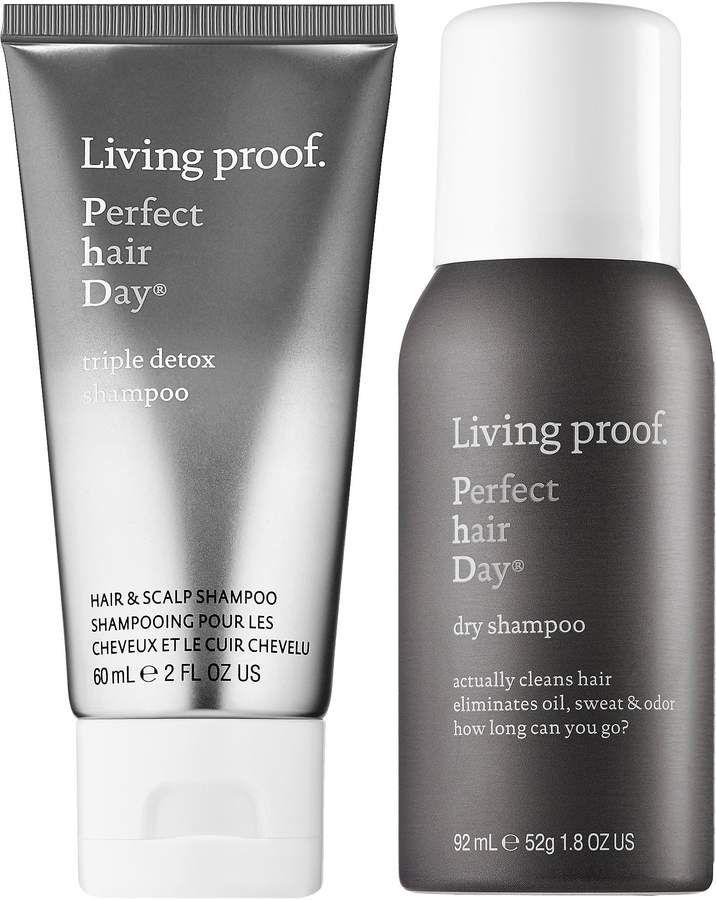 Living Proof Not Your Average Shampoos Travel Set Sephora Detox Shampoo Dry Shampoo