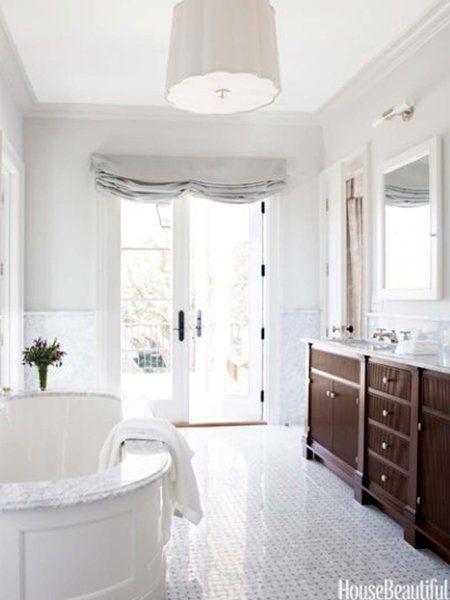 40 propuestas para decorar con azulejos tu baño | Baños elegantes ...