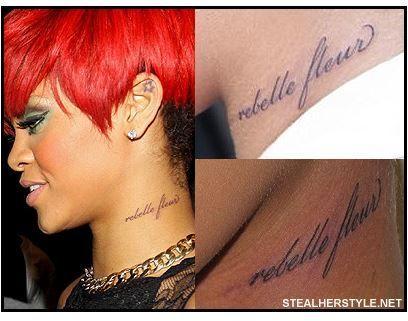 Tatuaje Cuello Rihanna Sobre La Piel Pinterest Tatuajes