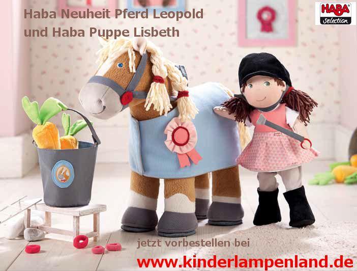 haba selection pferd leopold und haba puppe lisbeth haba neuheiten 2015. Black Bedroom Furniture Sets. Home Design Ideas