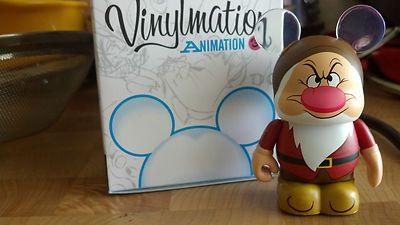 GRUMPY from Walt Disney's Snow White Disney Vinylmation Animation Series 3