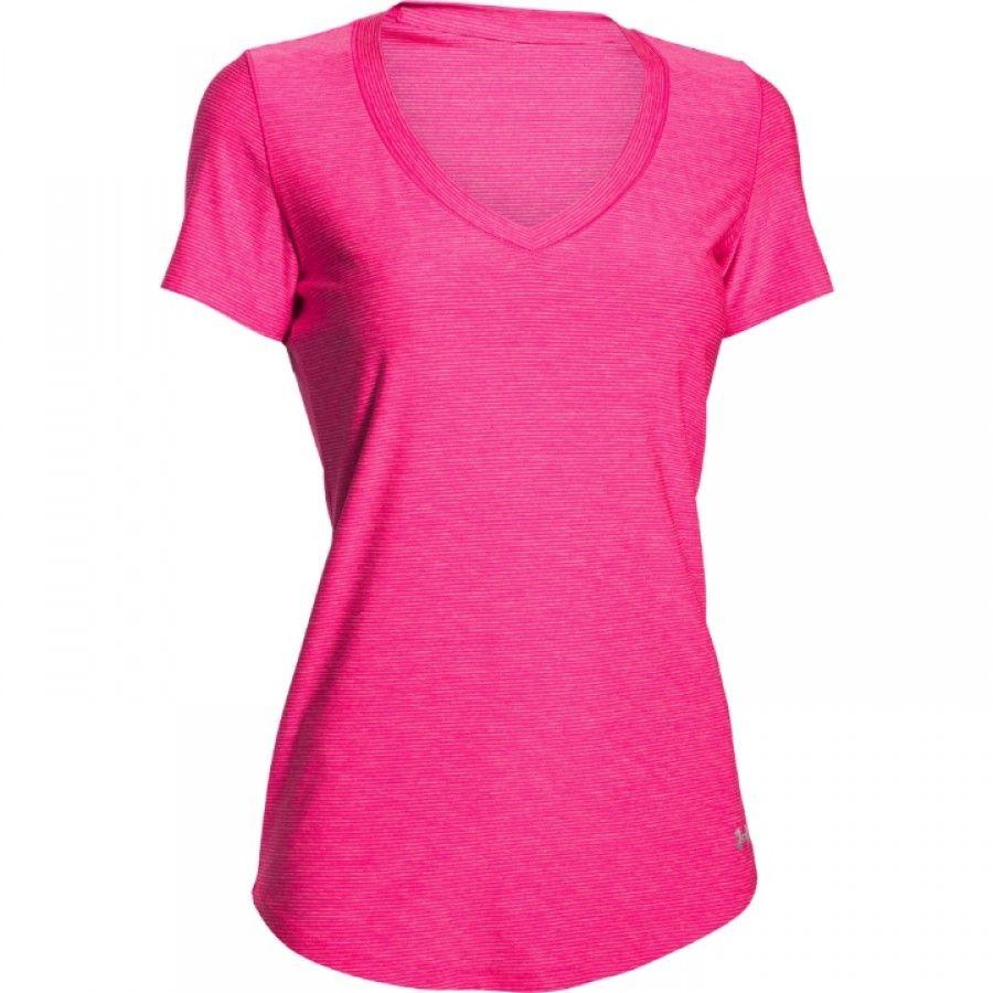 Dámské růžové tričko Under Armour  f6153a158e3