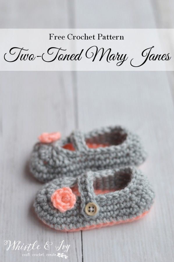 Two-Toned Little Dot Mary Janes | Zapatos, Zapatitos crochet y Tejido