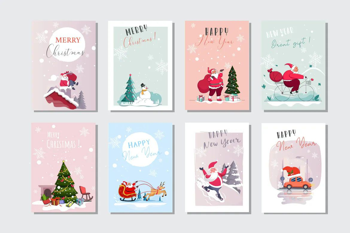 Merry Christmas Cards Templates Christmas Card Template Merry Christmas Card Christmas Card Design