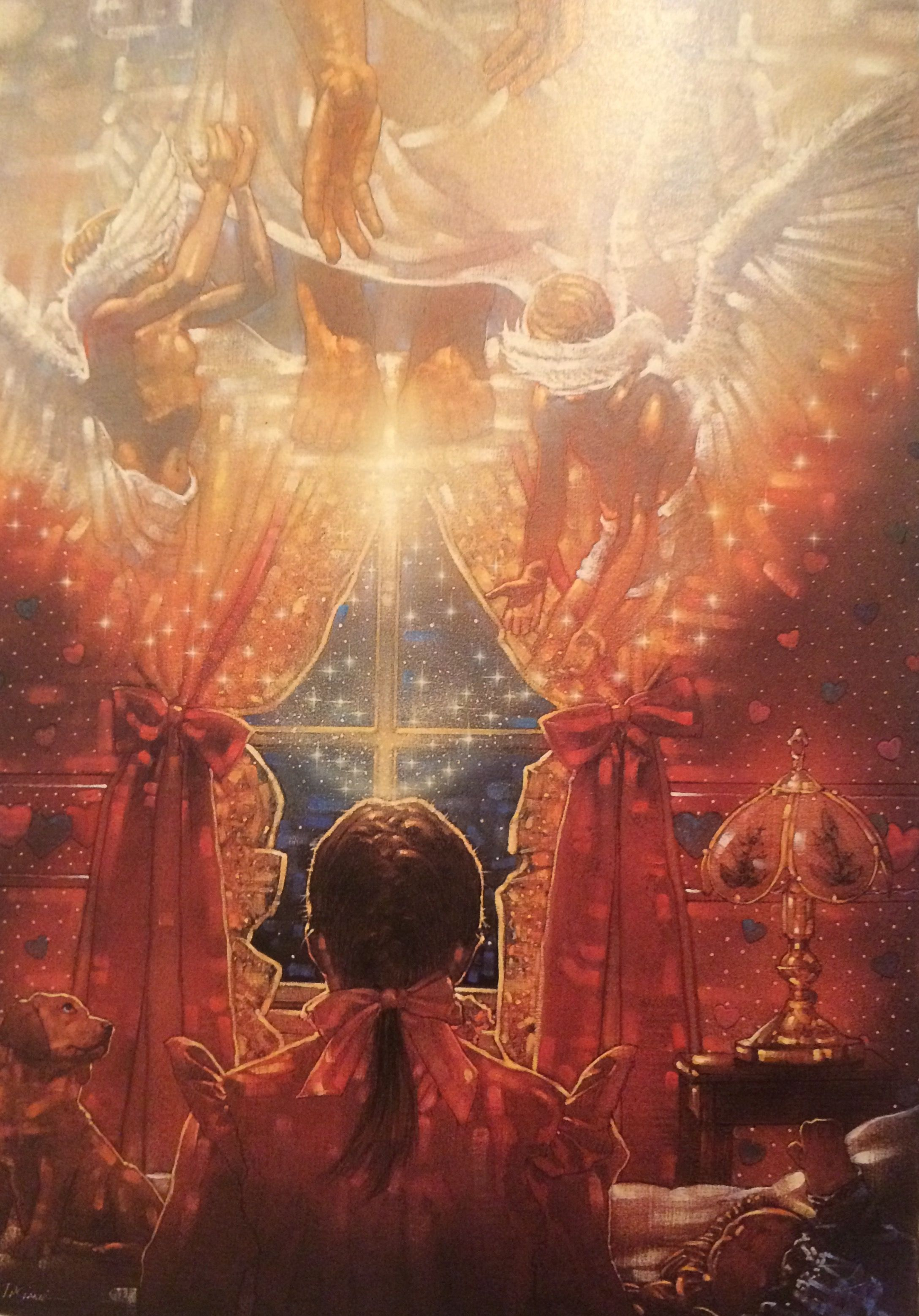 Into His Presence By Ron DiCianni | Spiritual art, Prophetic art, Art