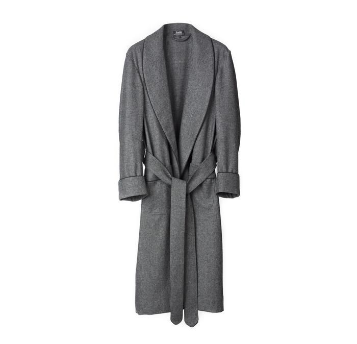 Fox Flannel Glen Check Dressing Gown In 2019 Flannel