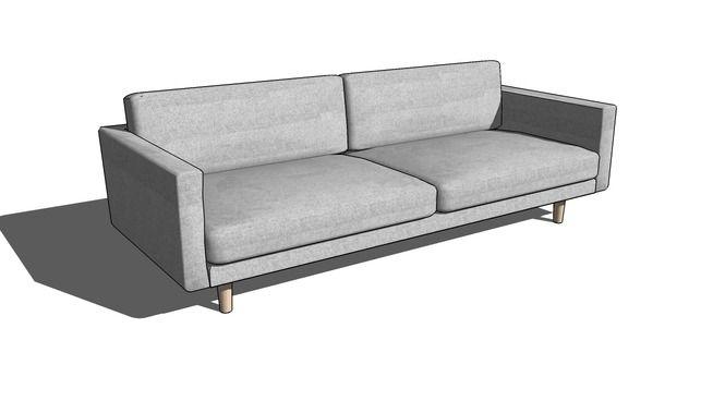 Hiroshima Sofa - 3D Warehouse