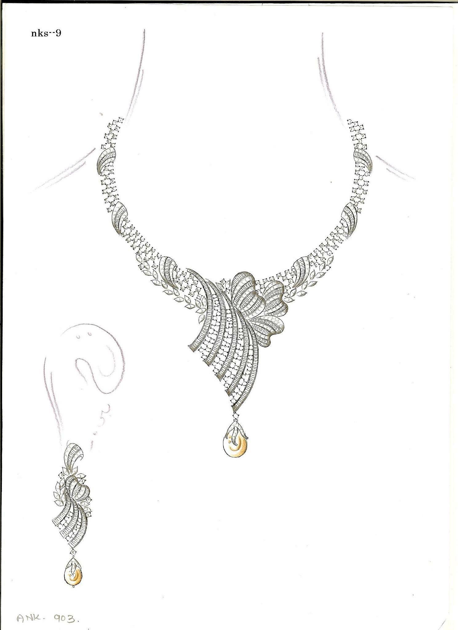 Pin by Janki Parekh on Jewelry | Jewelry drawing, Jewelry ...