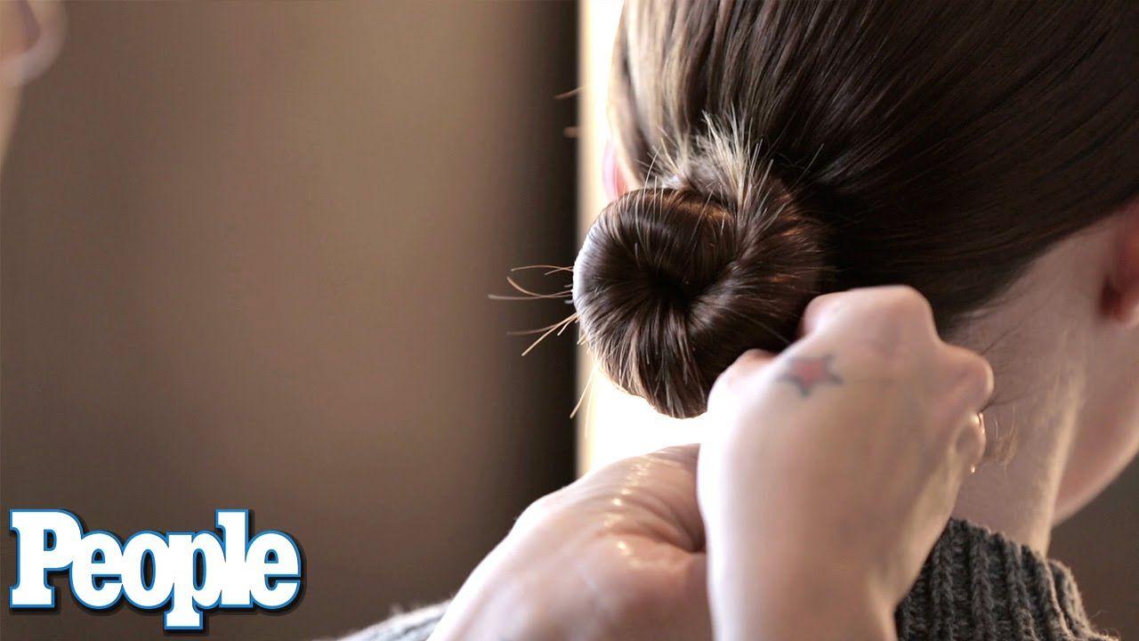 How It's Done: The Sleek Bun | Celeb Style | PEOPLE