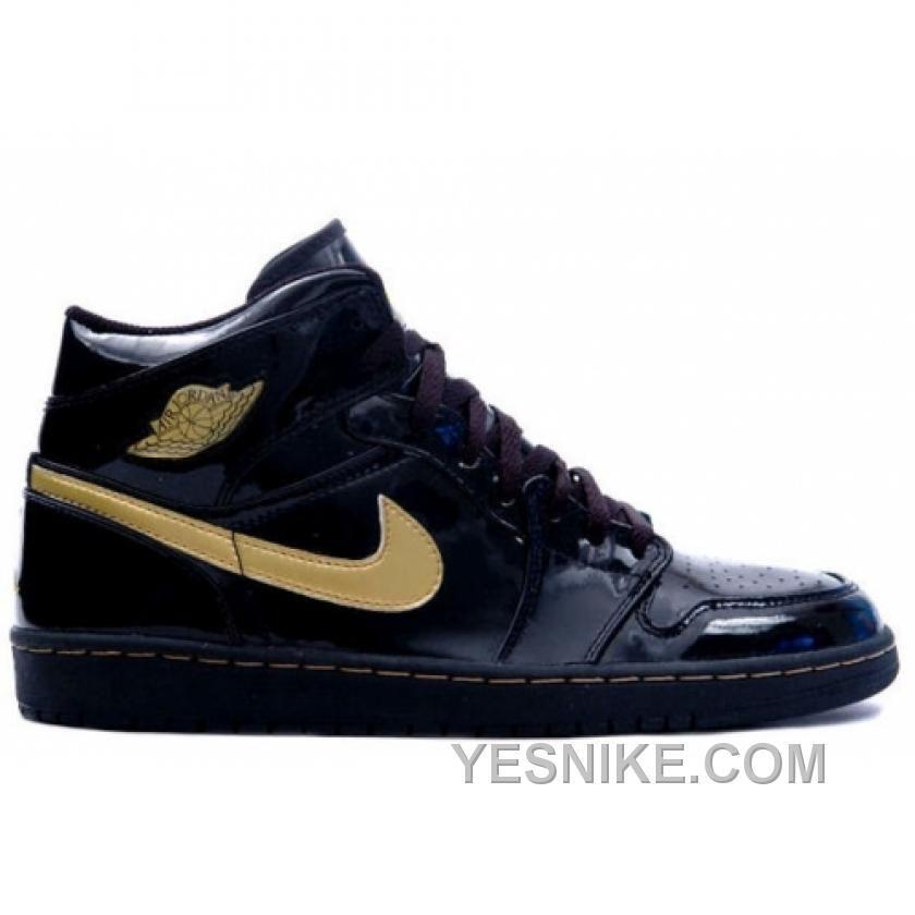 new arrivals 20fb9 634a8 136085-070 Air Jordan 1 Retro Black Metallic Gold A01005,Jordan-Jordan 1