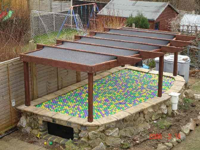 Pergola koi pond pergola pinterest for Koi pond shade ideas