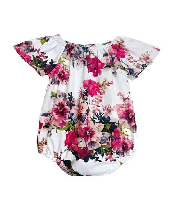 3c4bca953787 floral baby romper