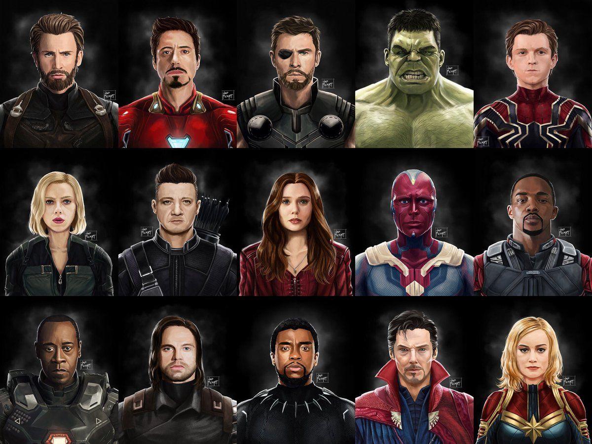 Все персонажи марвел список и фото