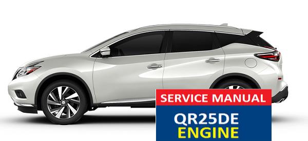 nissan murano service manual qr25de engine murano service manual rh pinterest com QR25DE Performance Nissan QR25DE Engine Cover