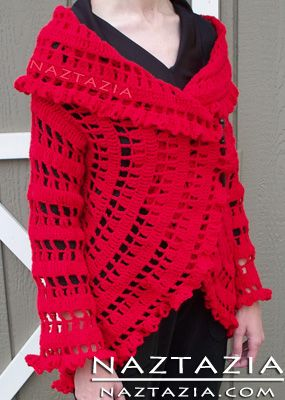 Free Pattern - Crochet Circle Sweater Jacket. This site has lots of free crochet tutorial videos from beginners to advanced.