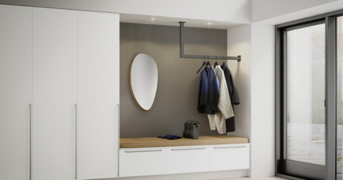 Med Veda får du optimal oppbevaringsplass i entreen.