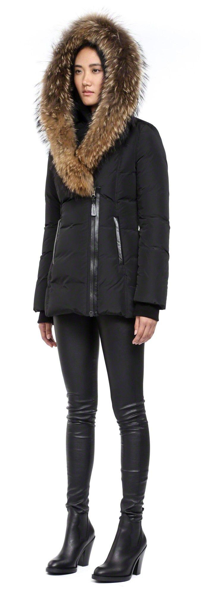 Mackage Trish Fur Collar Down Coat | Costumes | Pinterest | Fur ...