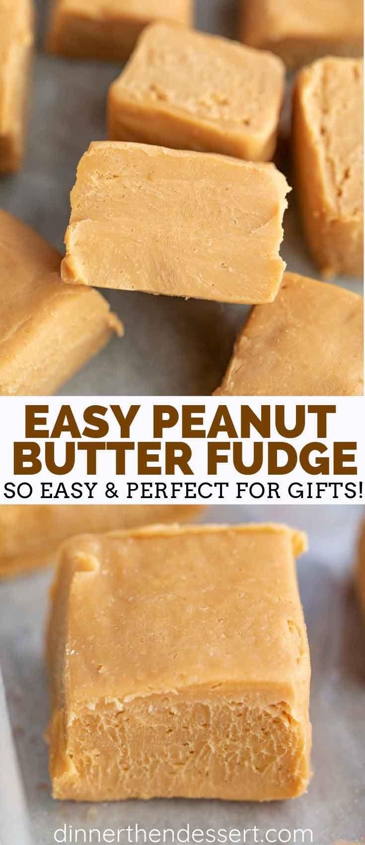 Peanut Butter Fudge - Dinner, then Dessert