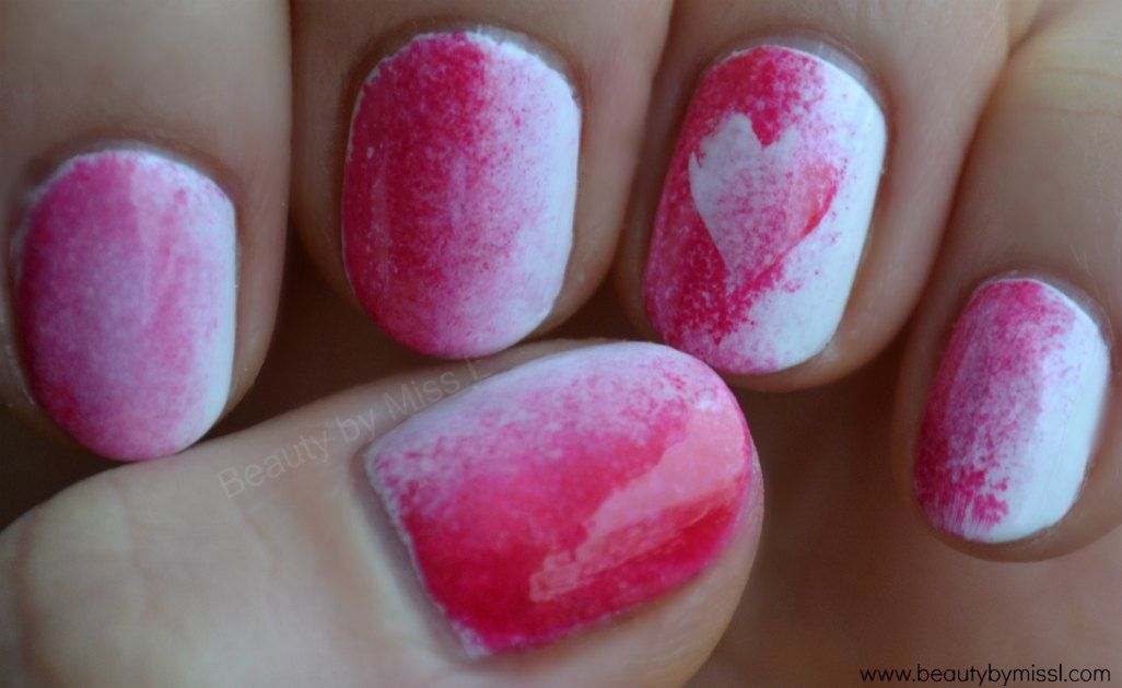 notd valentine day manicure