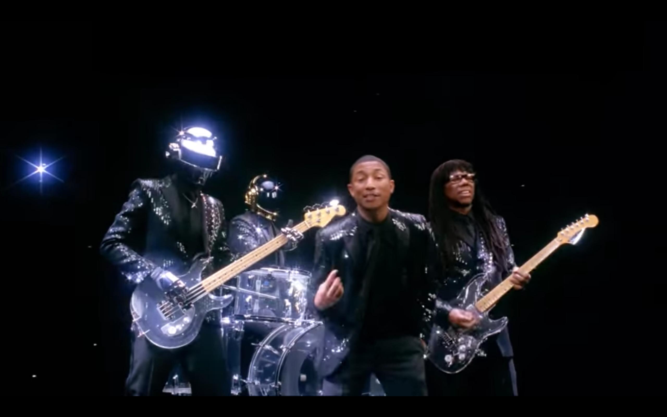 Daft Punk - Get Lucky | Daft punk, Good music, Music videos
