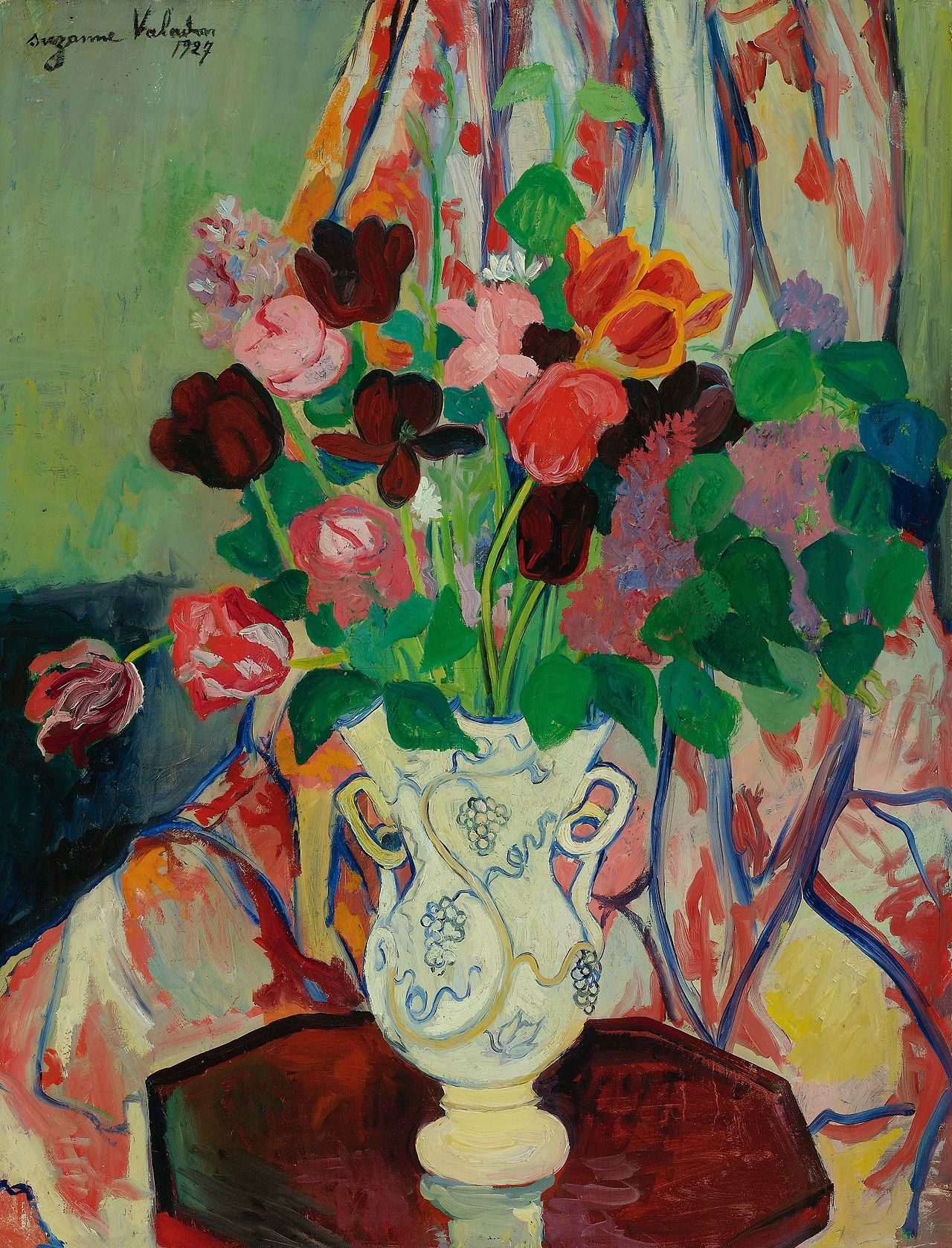 Suzanne Valadon Bouquet of Tulips 1927