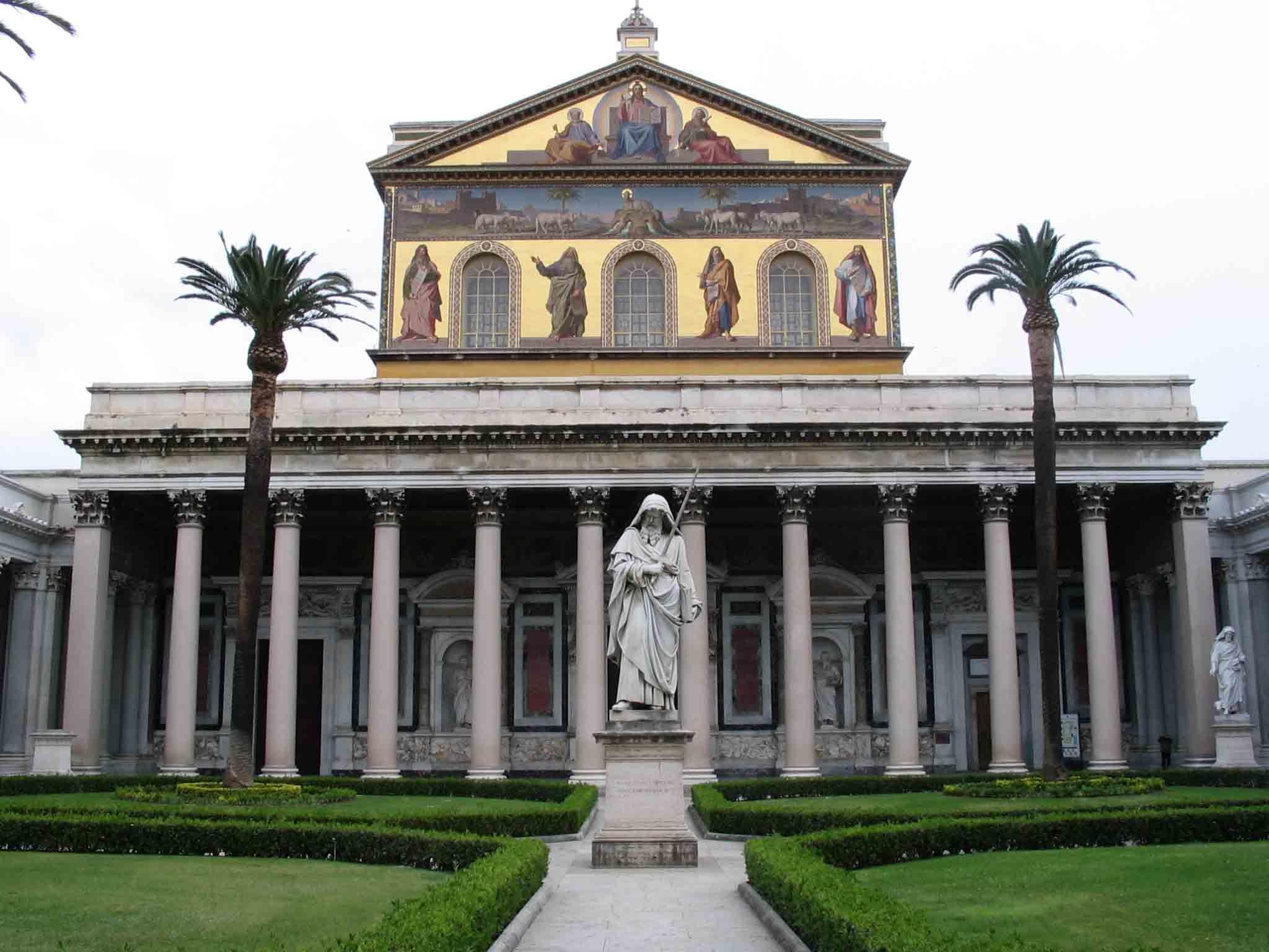 St Paul Outside The Walls Italy Rome Basilica