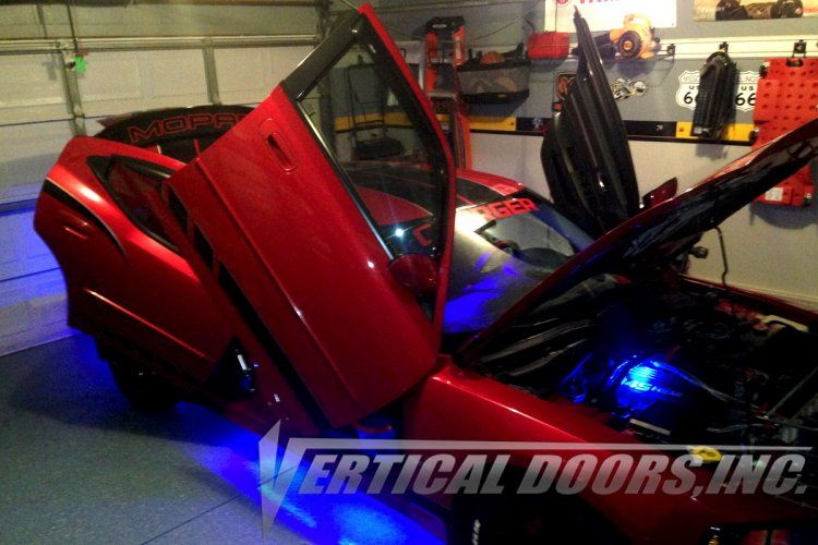 Vertical Doors Proudly Presents Dodge Charger 2005 2010 Vertical Lambo Doors Kit Made And Patented In The Usa With Most Vertical Doors Door Kits Dodge Charger