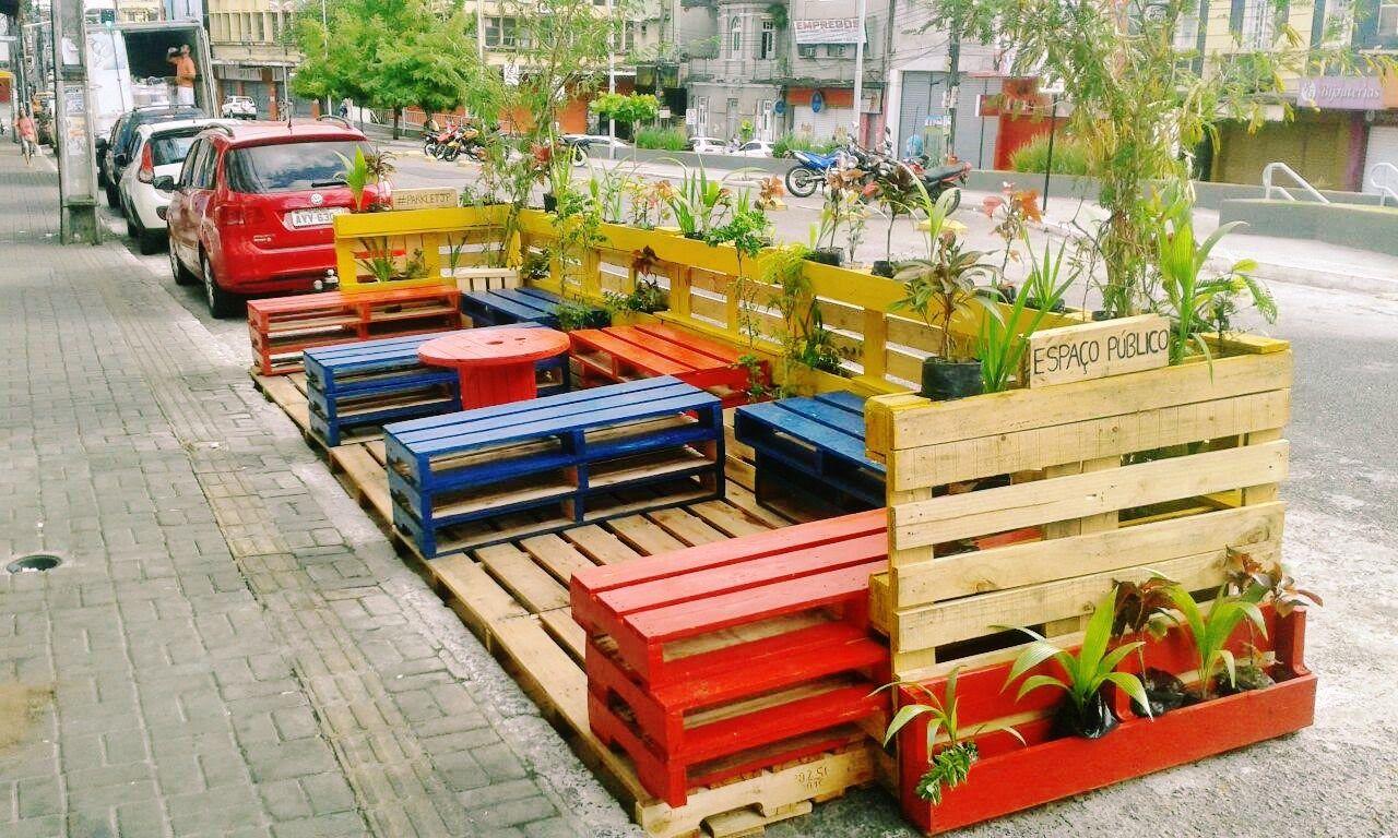 João Pessoa ganha primeiro Parklet do estado e estimula humanização no Centro da cidade